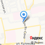 Кристалл на карте Астрахани