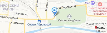 Югпромсервис на карте Астрахани