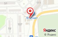 Схема проезда до компании Матек-трейд в Астрахани