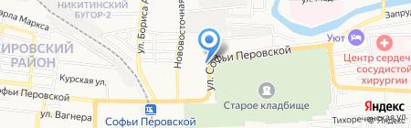 Губернский клуб на карте Астрахани