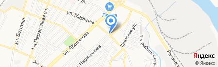Продуктовый магазин на ул. Нариманова на карте Астрахани