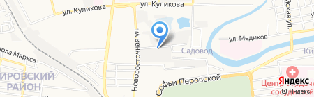 Веломаг на карте Астрахани