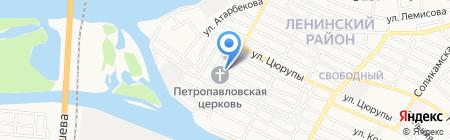 Детский сад №16 на карте Астрахани