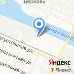 Рамс на карте Астрахани