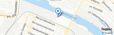Golden club МАС на карте Астрахани