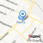 Золотой Налив на карте Астрахани
