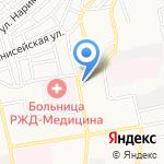 Скорая медицинская помощь на карте Астрахани