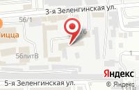 Схема проезда до компании Арт-Сити в Астрахани