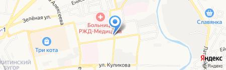 Заур на карте Астрахани