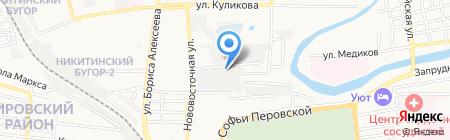 Благодать на карте Астрахани