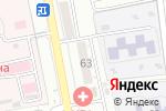 Схема проезда до компании Академия шаурмы в Астрахани