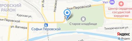 АстраханьАвтоМаркет на карте Астрахани