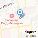 Сокольники на карте Астрахани