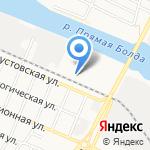 Харабалинская на карте Астрахани