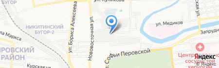 Оникс-2000 на карте Астрахани