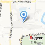 Союз на карте Астрахани