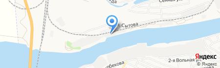 Стройкомплект на карте Астрахани
