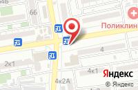 Схема проезда до компании Фиеста в Астрахани
