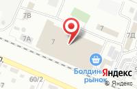 Схема проезда до компании Сеть магазинов текстиля в Астрахани