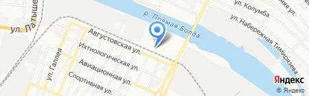 Шуйские ситцы на карте Астрахани