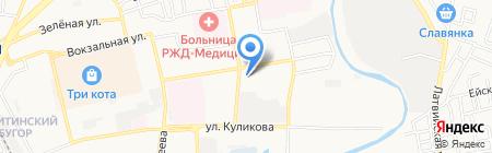 Общественная приемная депутата Городской Думы Булыгина А.П. на карте Астрахани