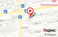 Схема проезда до компании РАВАНИ в Астрахани