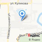 Городской комбинат похоронных услуг на карте Астрахани