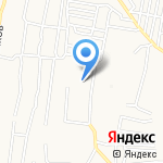 Детский сад №1 на карте Астрахани