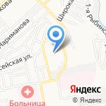 Времена года на карте Астрахани