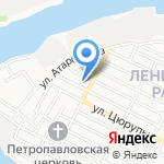 Астраханский хлеб на карте Астрахани