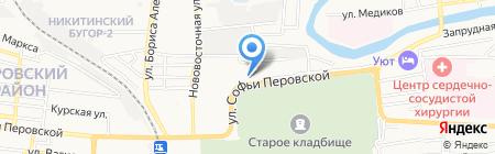 АКВАМАРИН на карте Астрахани