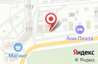 Схема проезда до компании АКВАМАРИН в Астрахани