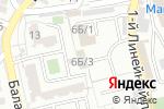 Схема проезда до компании Gertz окна в Астрахани