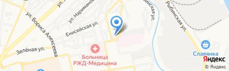 Автомастерская на карте Астрахани