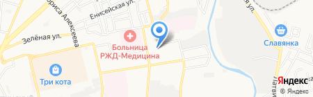 Детский сад №57 Родничок на карте Астрахани