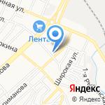 Турбина-Центр на карте Астрахани