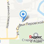 Тарантас на карте Астрахани