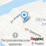 Паб на карте Астрахани