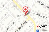 Схема проезда до компании Красотка ПРОФИ в Астрахани
