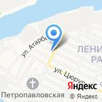 Магазин канцелярских товаров и бытовой химии на карте Астрахани