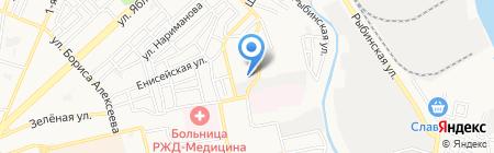 Модуль-С на карте Астрахани