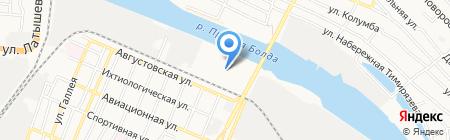 у Кати на карте Астрахани