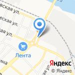 Фабрика Москва на карте Астрахани