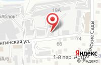 Схема проезда до компании Луч-Мастер в Астрахани