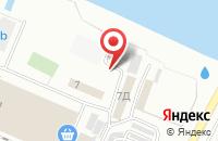 Схема проезда до компании Южный город в Астрахани