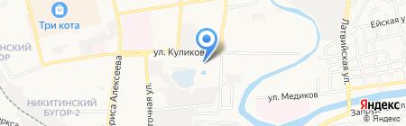 Продуктовый магазин на карте Астрахани