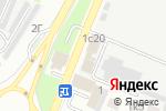 Схема проезда до компании Вертикаль в Астрахани