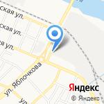 Баку на карте Астрахани