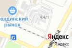 Схема проезда до компании На Августовской в Астрахани