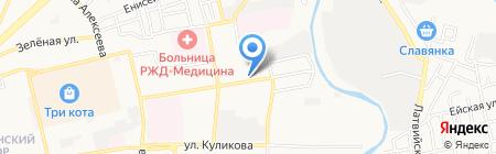 Городская поликлиника №8 им. Н.И. Пирогова на карте Астрахани